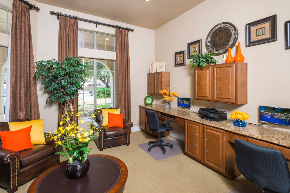 Business office at Villas of Vista Del Norte in San Antonio, Texas