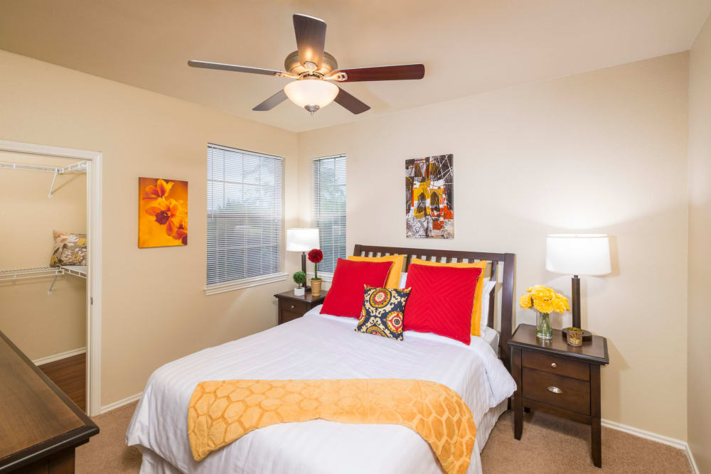 Bedroom at Villas of Vista Del Norte in San Antonio, Texas