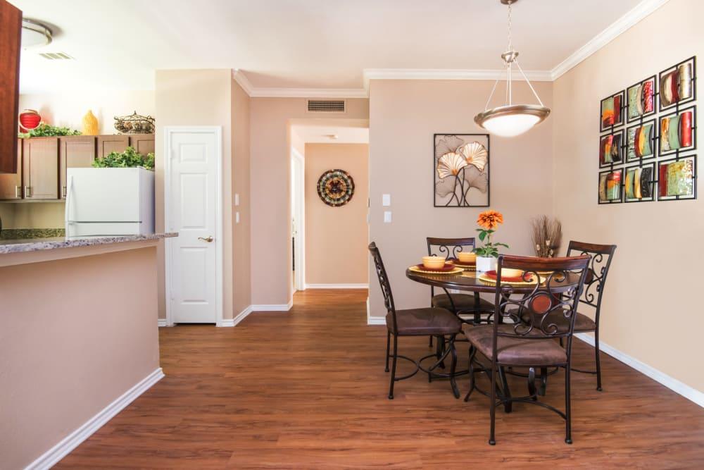 Spacious kitchen at Villas of Preston Creek in Plano, Texas