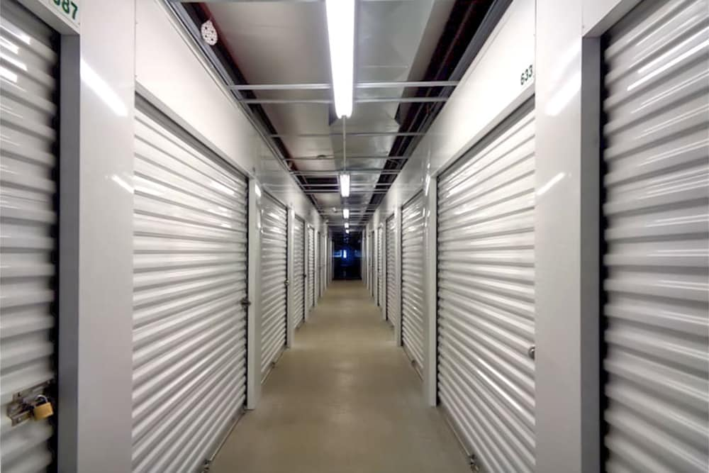 Interior units at Prime Storage in Portsmouth, RI
