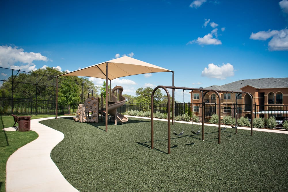 Playground at Villas in Westover Hills in San Antonio, Texas