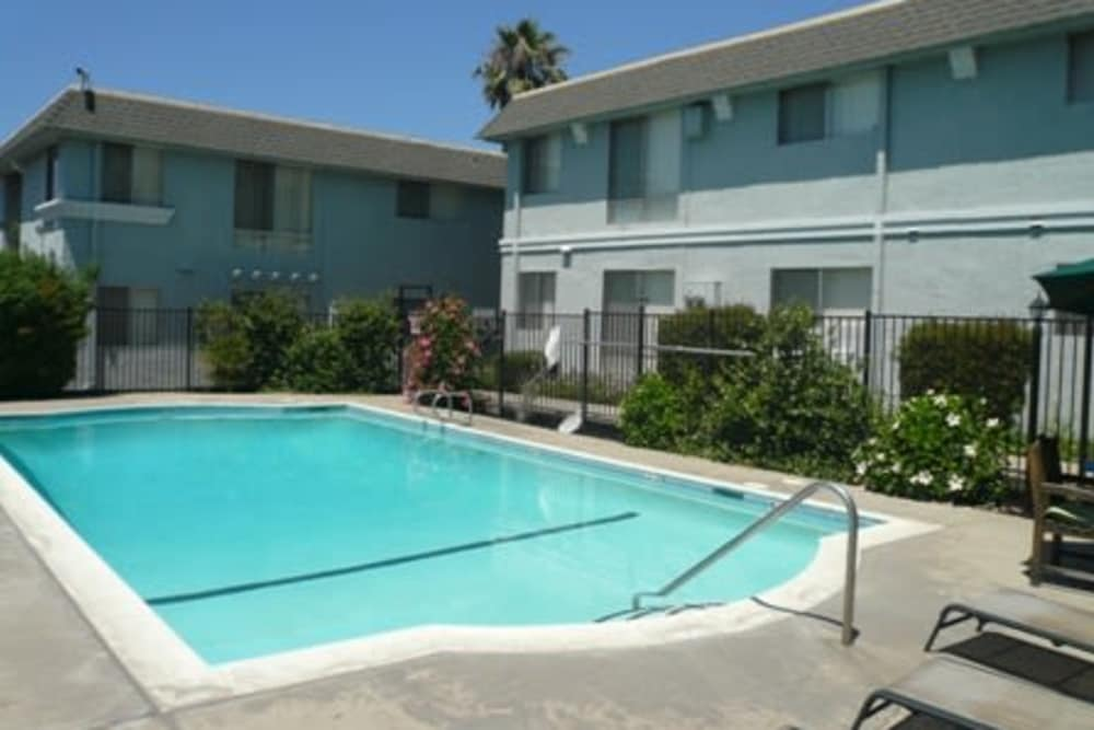 Swimming pool at Heatherwood Apartments in Sacramento, CA