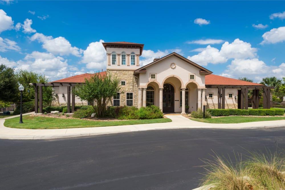 Entryway at Villas at Medical Center in San Antonio, Texas
