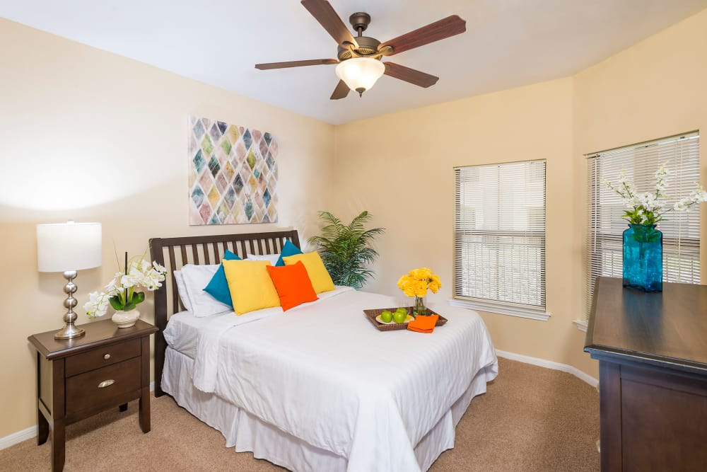 Bedroom at Villas at Medical Center in San Antonio, Texas
