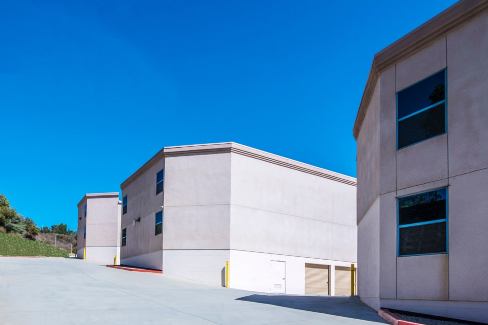 Exterior Units at Golden Triangle Self Storage in San Diego, CA