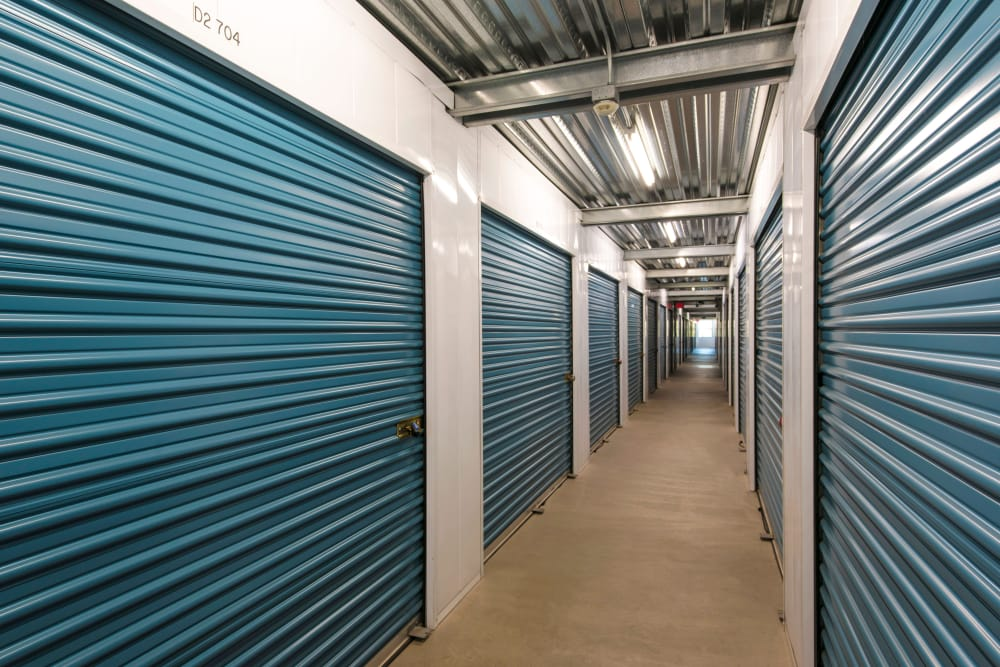 Interior Units at Golden Triangle Self Storage in San Diego, CA