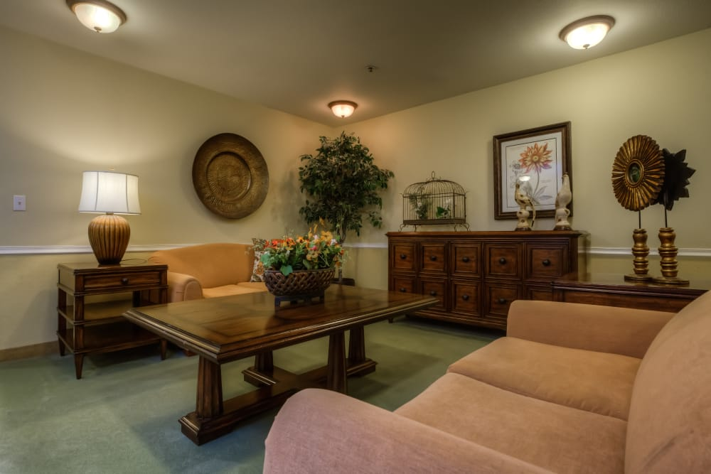 Regency Park offers a living room in Portland, Oregon