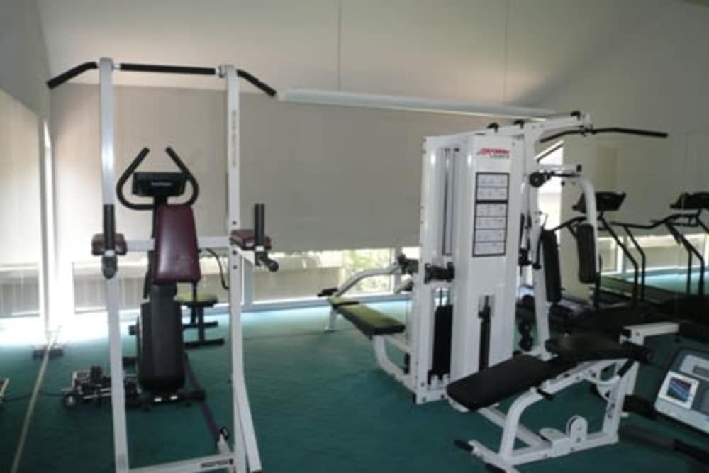Fitness center at Ardendale Apartments in Sacramento, CA