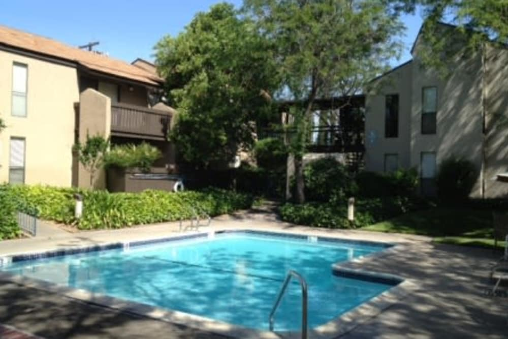Swimming pool at Ardendale Apartments in Sacramento, CA