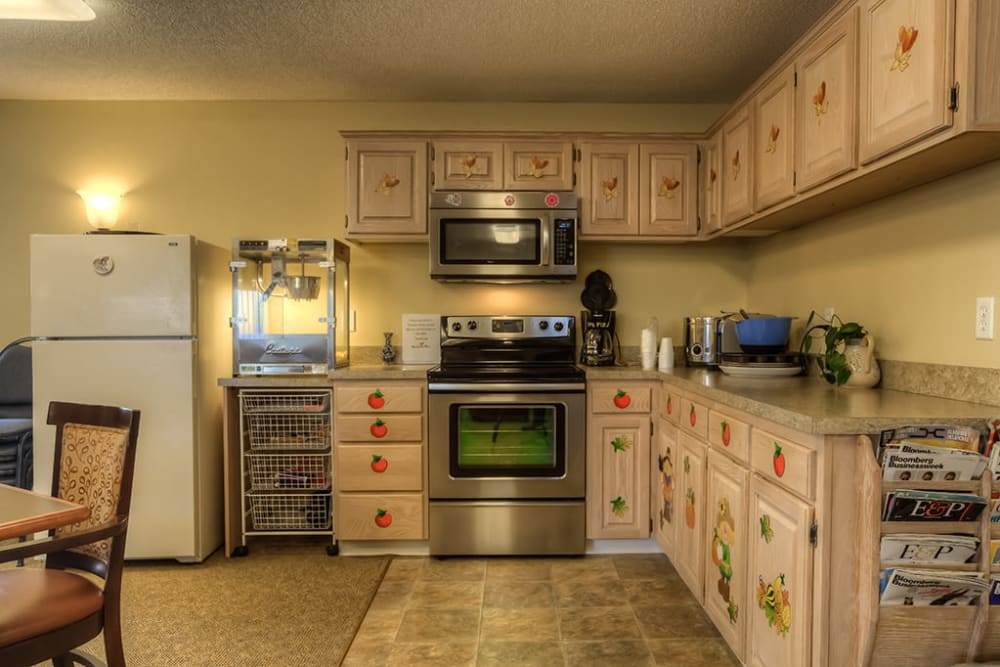 Therapy kitchen at Royalton Place in Milwaukie, Oregon