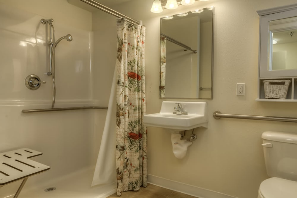 Bathroom at Royalton Place in Milwaukie, OR
