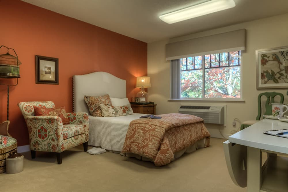 Bedroom at Royalton Place in Milwaukie, OR