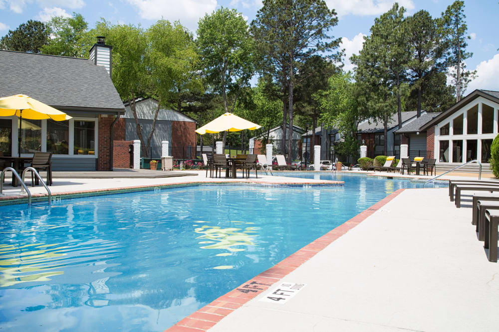Swimming pool at The Atlantic Sweetwater in Lawrenceville, Georgia