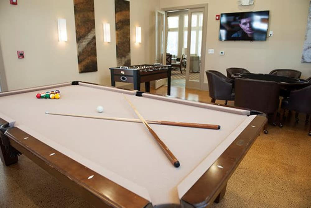 Enjoy a unique game room at Sterling Town Center