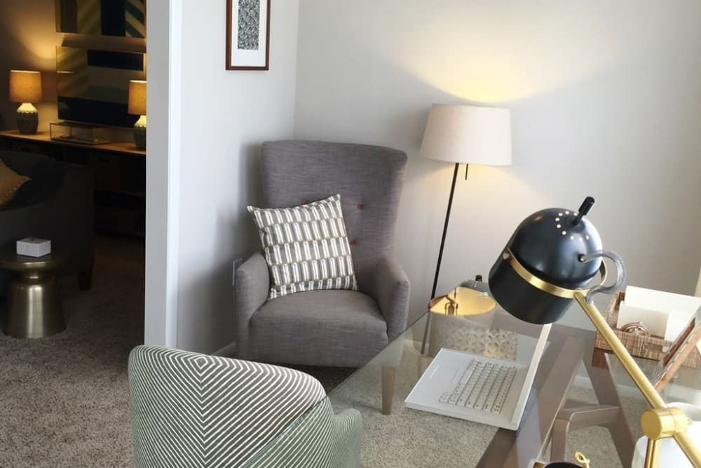 Office in apartments at The Madison