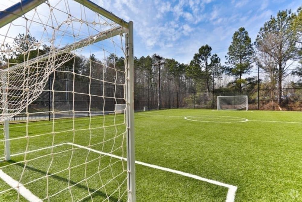 Soccer field at The Madison in Charlotte, North Carolina