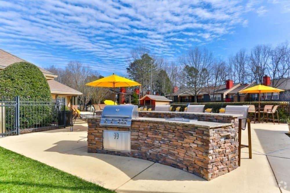 Unique BBQ Area at The Madison in Charlotte, North Carolina