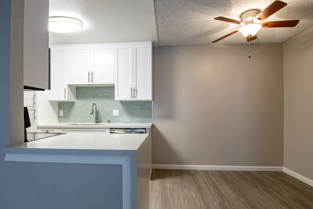 Spacious dining space at Avana La Jolla Apartments in San Diego, CA