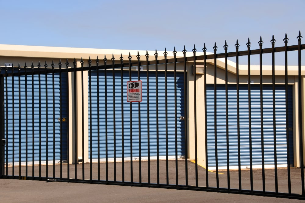 Security Fence at Keystone Self Storage in North Miami, Florida