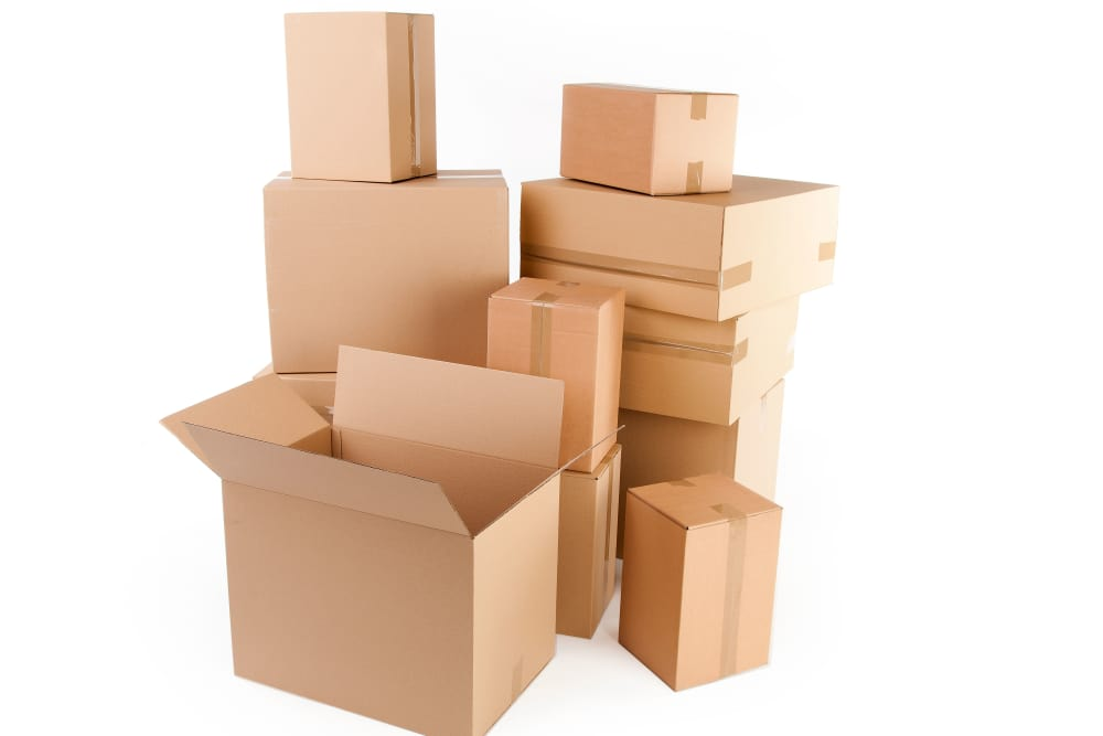Get your moving boxes at Keystone Self Storage in North Miami, Florida