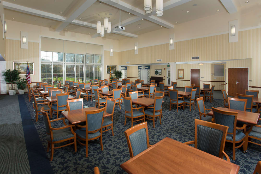 Our Weinberg Villages I-V in Owings Mills, Maryland showcase a dining room