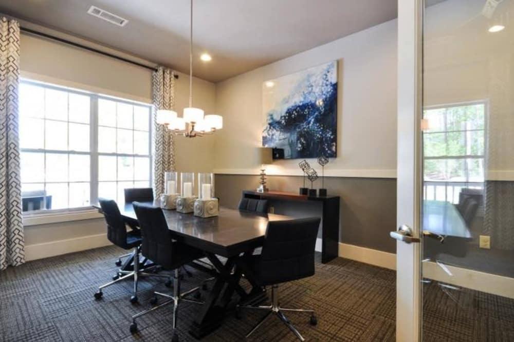 Meeting room at Arbor Village in Summerville, South Carolina