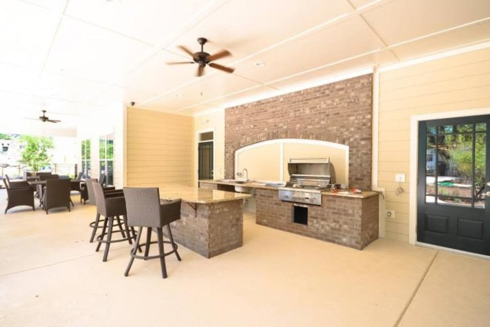 Our cozy apartments in Summerville, South Carolina showcase a bbq area