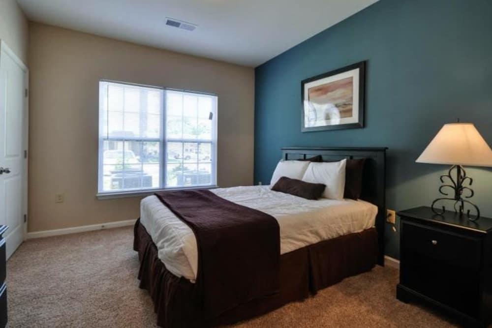 Spacious bedroom at Arbor Village in Summerville, SC
