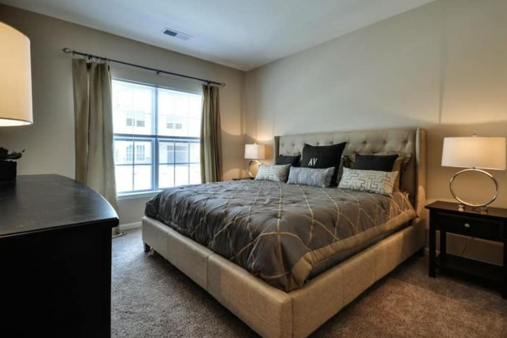 Our luxury apartments in Summerville, South Carolina showcase a bedroom