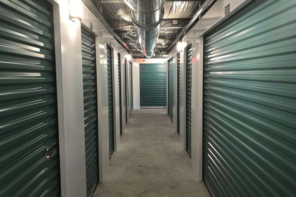 Byron Self Storage features clean interior storage units in Byron, Georgia