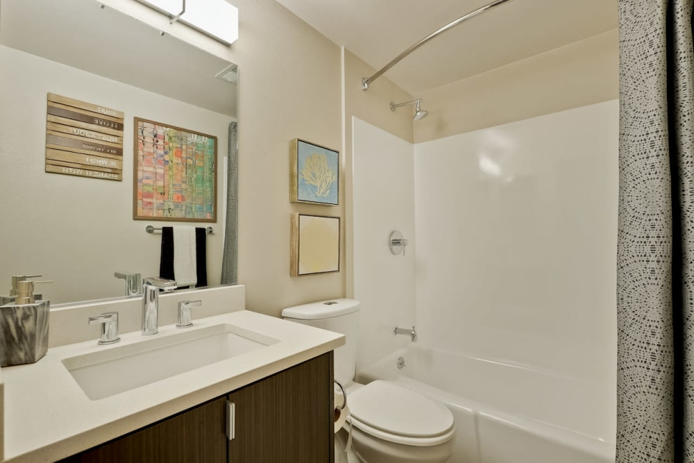 Apartments for Rent in Palo Alto - Mia Bathroom