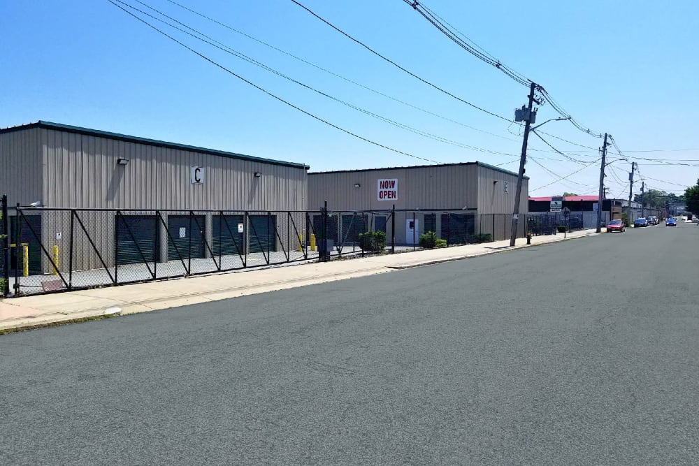 Street view of Reservoir Self Storage in Providence, Rhode Island