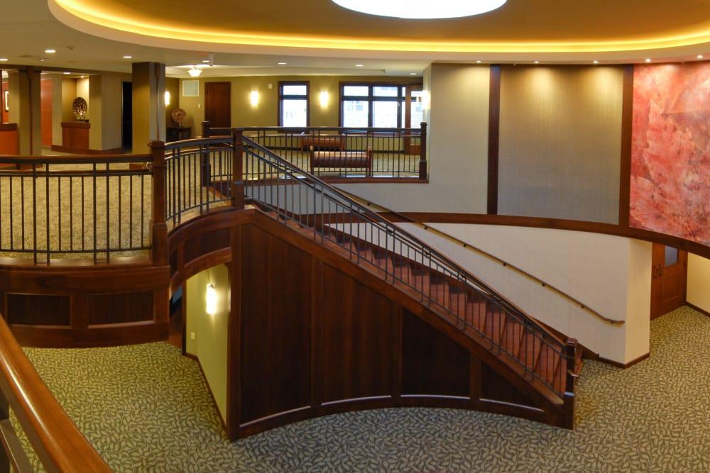 Stairwell at The Glenn Minnetonka