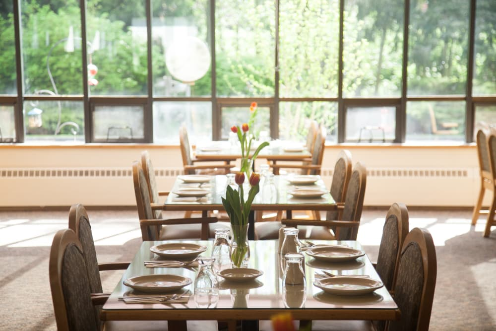 Ask about our Private Dining options at  Logan Creek Retirement Community