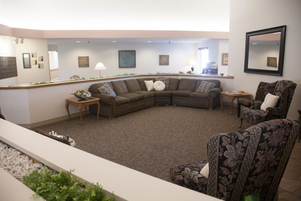 There's plenty of space to roam at  Logan Creek Retirement Community