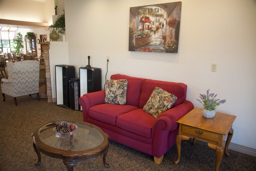 We're proud to offer all the comforts of home at  Logan Creek Retirement Community