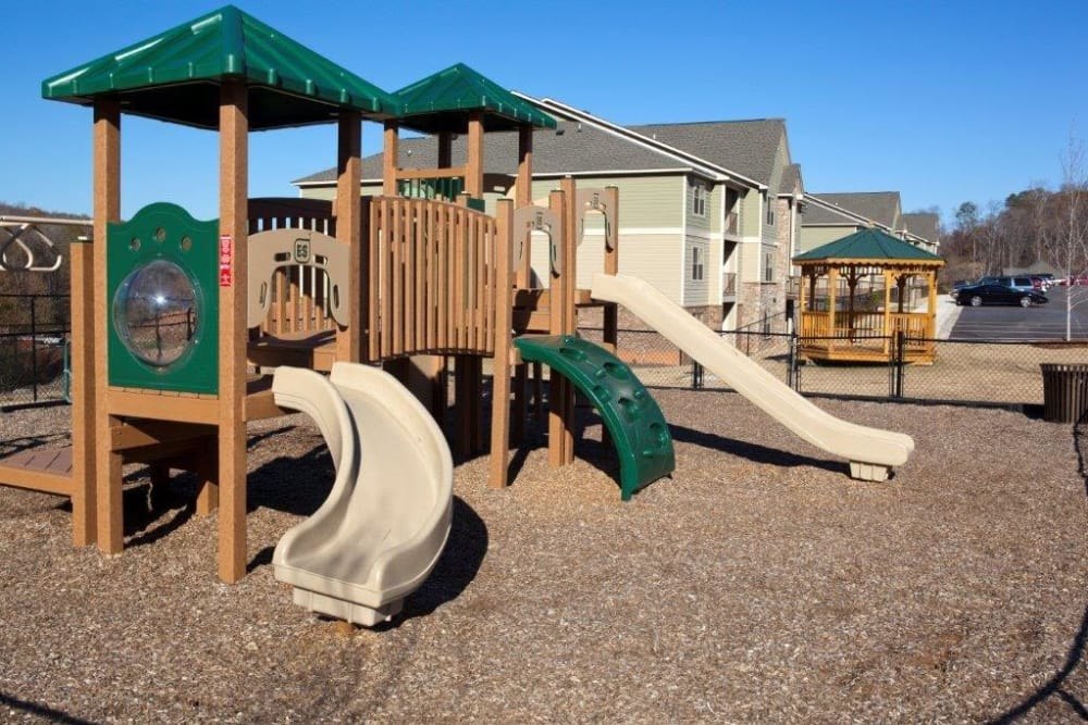 A children's playground at The District at Phenix City in Phenix City, Alabama