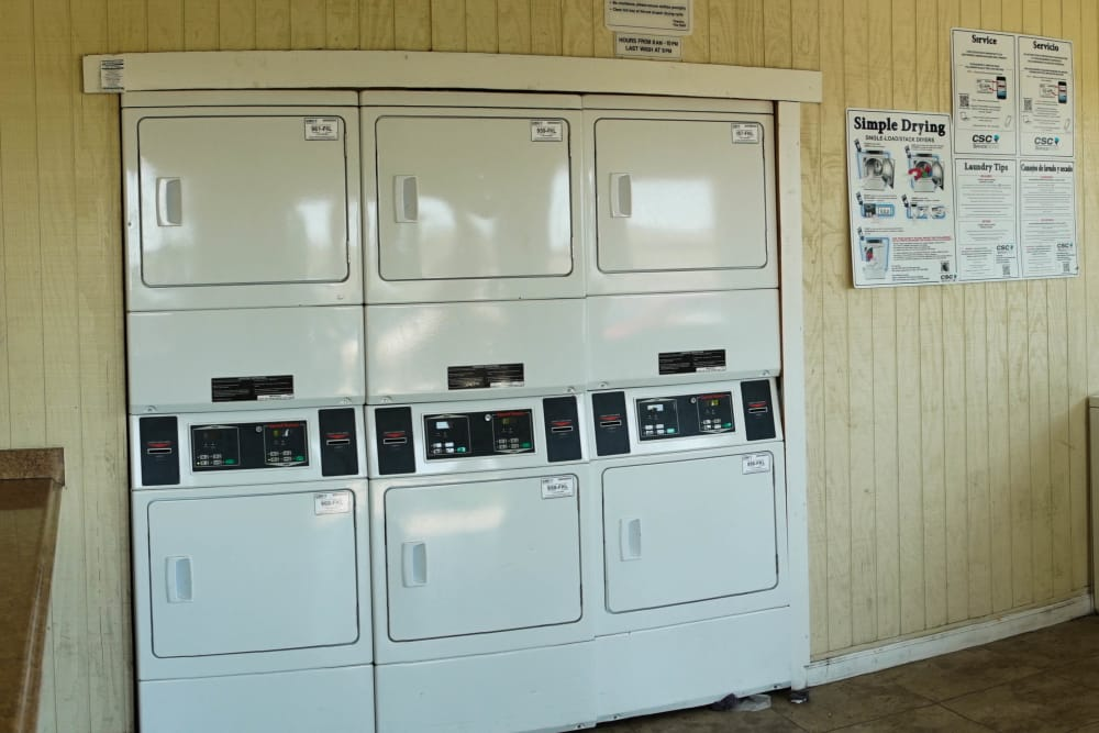 Laundry Facility at Maple Trail Apartments & Townhomes in Pasadena, Texas