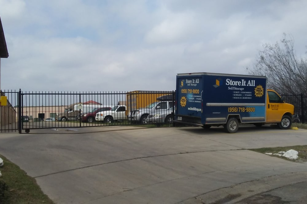 Exterior units at Store It All Self Storage - Affordable in Laredo, TX