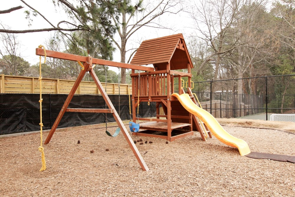 Playground area at Alturas Embry Hills in Doraville, Georgia