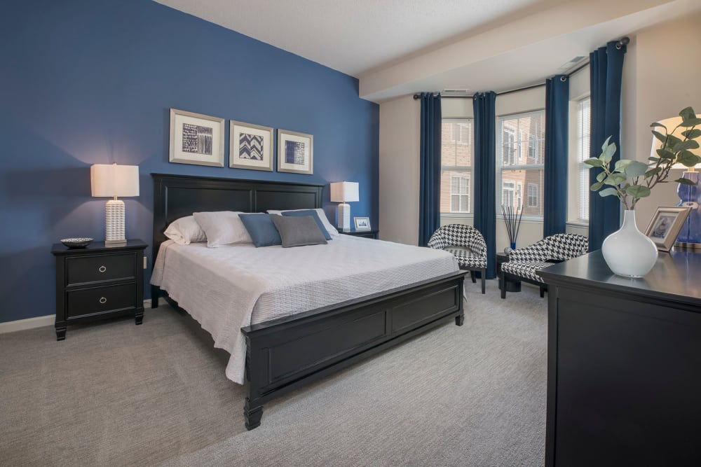 Modern finishes at City Walk at Woodbury