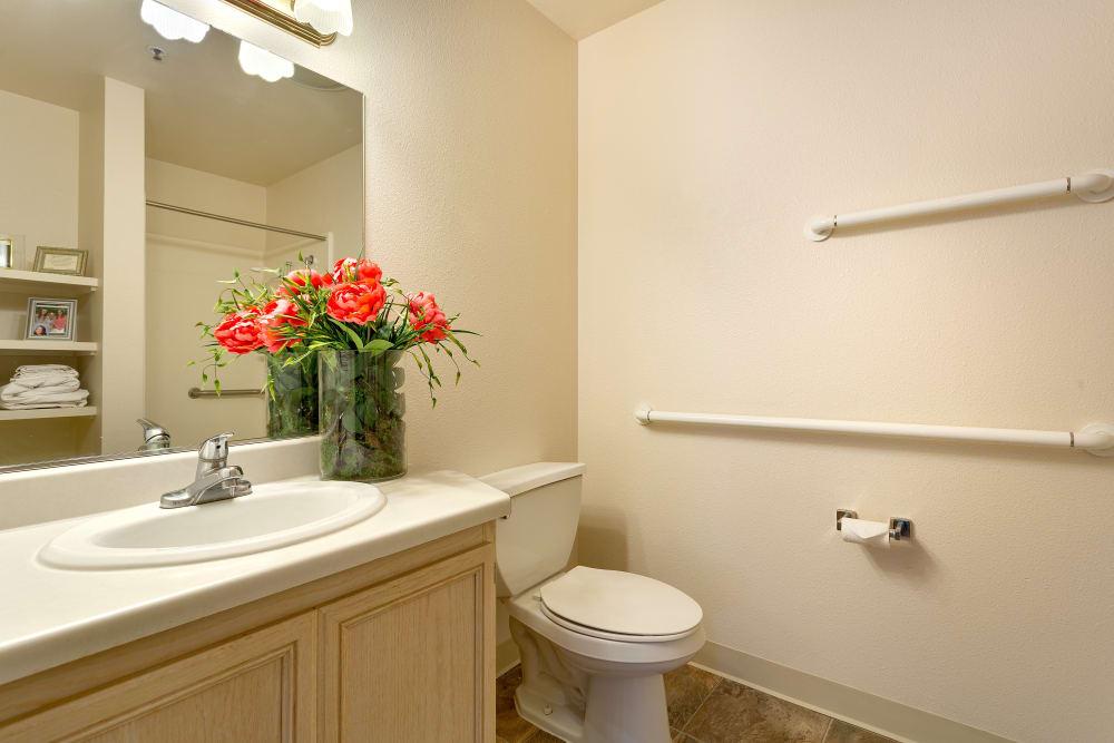 Bathroom at Heritage Springs in Las Vegas, NV