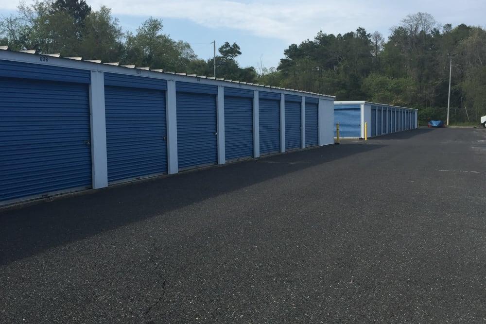 Exterior units at Store It All Self Storage - Barnegat in Barnegat, NJ