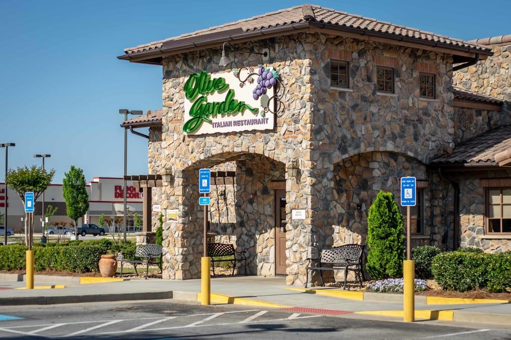 Italian restaurant at Haddon Place in McDonough, Georgia