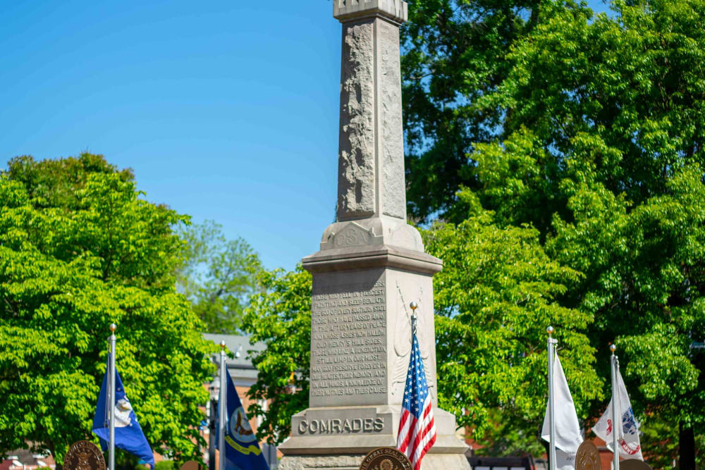 Monument near at Haddon Place in McDonough, Georgia