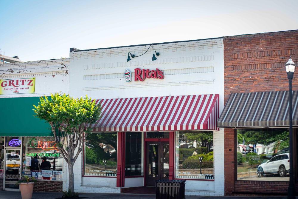 Ice cream shop near at Haddon Place in McDonough, Georgia