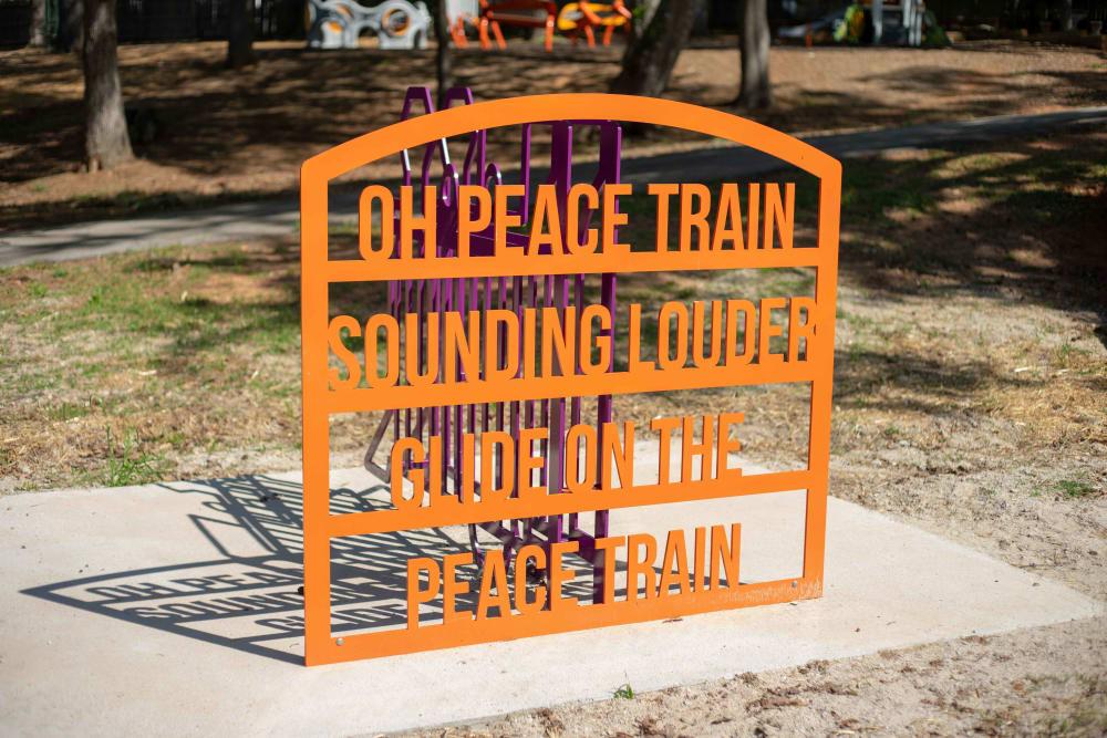 Beatiful signs at Haddon Place in McDonough, Georgia
