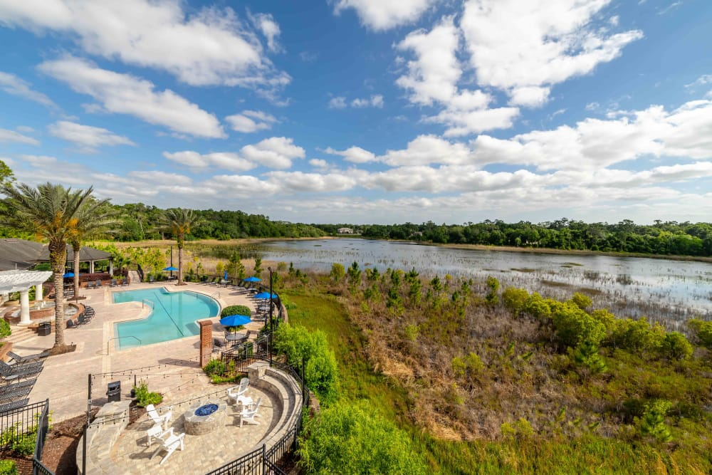 Swimming pool at Integra Landings in Orange City, Florida