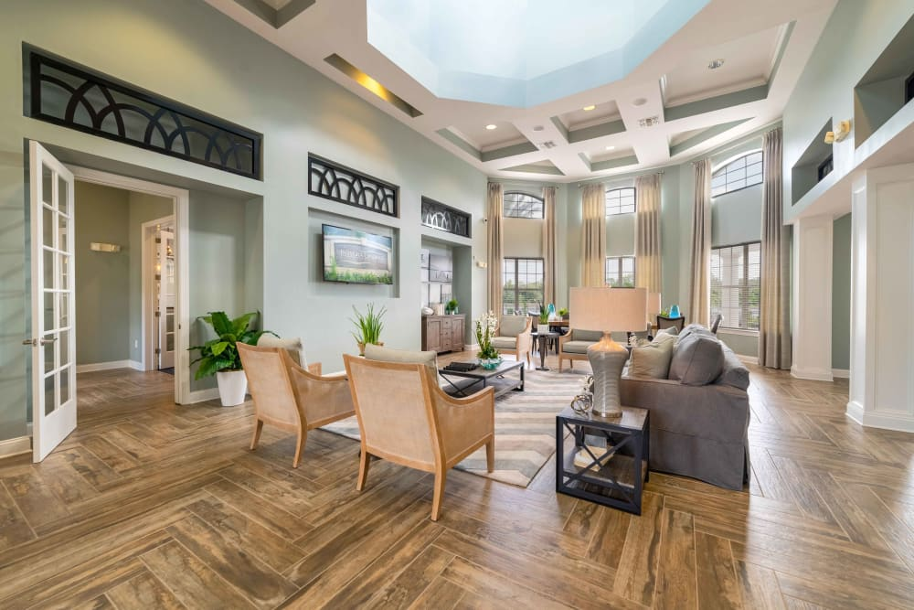 Our apartments in Orange City, Florida offer a living room