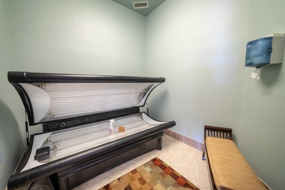 Tanning bed at Integra Landings in Orange City, Florida